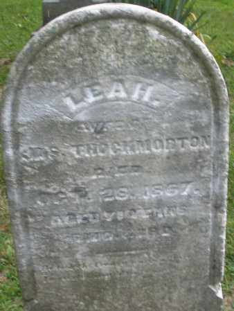 THROCKMORTON, LEAH - Warren County, Ohio | LEAH THROCKMORTON - Ohio Gravestone Photos