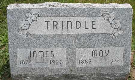TRINDLE, MAY - Warren County, Ohio | MAY TRINDLE - Ohio Gravestone Photos