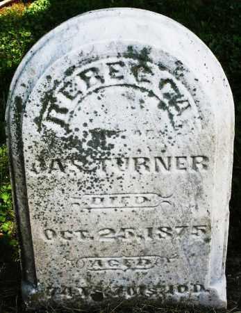TURNER, REBECCA - Warren County, Ohio   REBECCA TURNER - Ohio Gravestone Photos