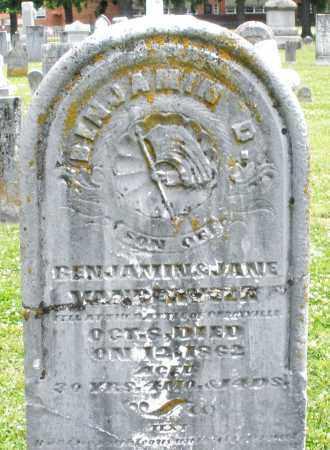VANDERVEER, BENJAMIN D. - Warren County, Ohio | BENJAMIN D. VANDERVEER - Ohio Gravestone Photos