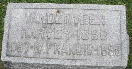 VANDERVEER, HARVEY - Warren County, Ohio | HARVEY VANDERVEER - Ohio Gravestone Photos