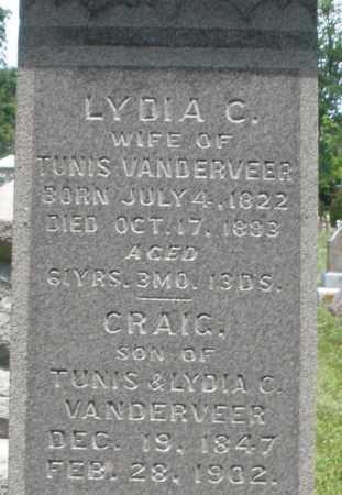 VANDERVEER, LYDIA C. - Warren County, Ohio | LYDIA C. VANDERVEER - Ohio Gravestone Photos