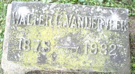 VANDERVEER, WALTER - Warren County, Ohio | WALTER VANDERVEER - Ohio Gravestone Photos