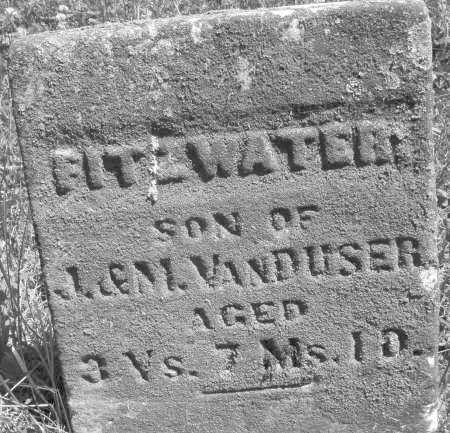 VAN DUSER, FITZWATER - Warren County, Ohio | FITZWATER VAN DUSER - Ohio Gravestone Photos