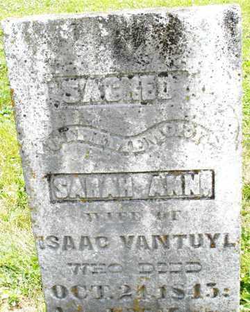 VANTUYL, SARAH  ANN - Warren County, Ohio | SARAH  ANN VANTUYL - Ohio Gravestone Photos