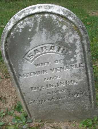 VENABLE, SARAH - Warren County, Ohio   SARAH VENABLE - Ohio Gravestone Photos