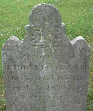 VENARD, THOMAS - Warren County, Ohio | THOMAS VENARD - Ohio Gravestone Photos