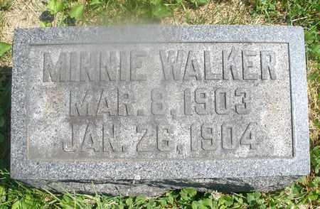 WALKER, MINNIE - Warren County, Ohio | MINNIE WALKER - Ohio Gravestone Photos