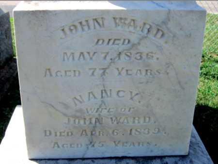 WARD, JOHN - Warren County, Ohio | JOHN WARD - Ohio Gravestone Photos