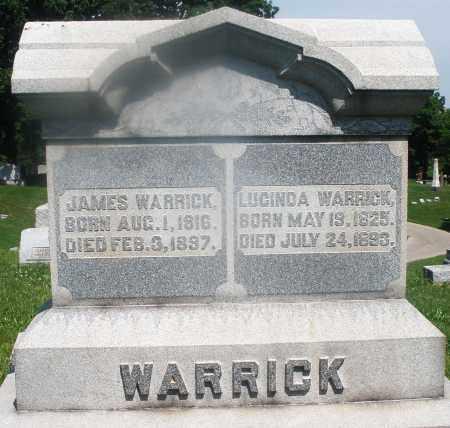 WARRICK, LUCINDA - Warren County, Ohio   LUCINDA WARRICK - Ohio Gravestone Photos