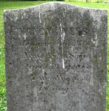 WEER, NANCY - Warren County, Ohio | NANCY WEER - Ohio Gravestone Photos