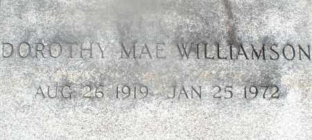 WILLIAMSON, DOROTHY MAE - Warren County, Ohio | DOROTHY MAE WILLIAMSON - Ohio Gravestone Photos