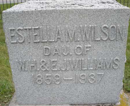 WILSON, ESTELLA M. - Warren County, Ohio   ESTELLA M. WILSON - Ohio Gravestone Photos
