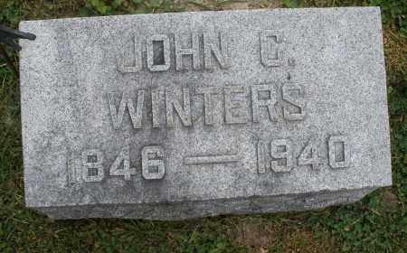 WINTERS, JOHN C. - Warren County, Ohio | JOHN C. WINTERS - Ohio Gravestone Photos