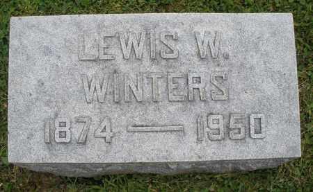 WINTERS, LEWIS W. - Warren County, Ohio | LEWIS W. WINTERS - Ohio Gravestone Photos