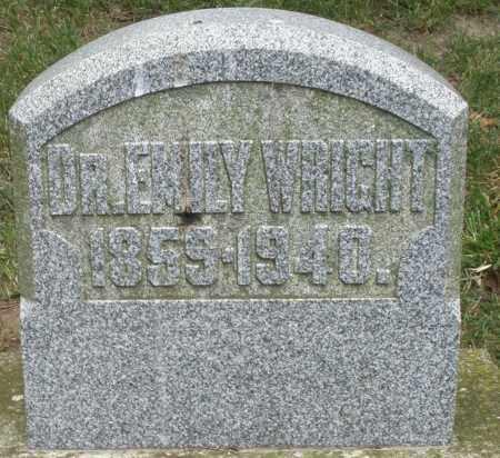 WRIGHT, EMILY DR. - Warren County, Ohio   EMILY DR. WRIGHT - Ohio Gravestone Photos