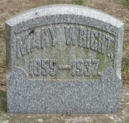 WRIGHT, MARY - Warren County, Ohio   MARY WRIGHT - Ohio Gravestone Photos