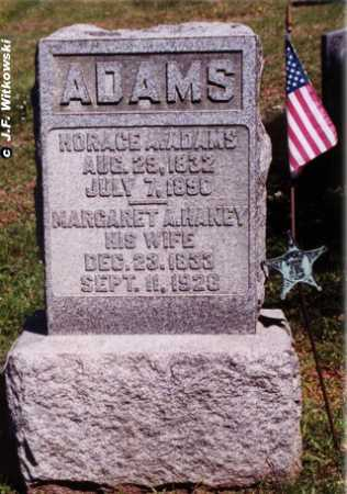 HANEY ADAMS, MARGARET ANN - Washington County, Ohio | MARGARET ANN HANEY ADAMS - Ohio Gravestone Photos
