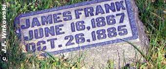 ADAMS, JAMES FRANKLIN - Washington County, Ohio   JAMES FRANKLIN ADAMS - Ohio Gravestone Photos