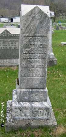 ALLISON, LEICESTER G. - Washington County, Ohio | LEICESTER G. ALLISON - Ohio Gravestone Photos