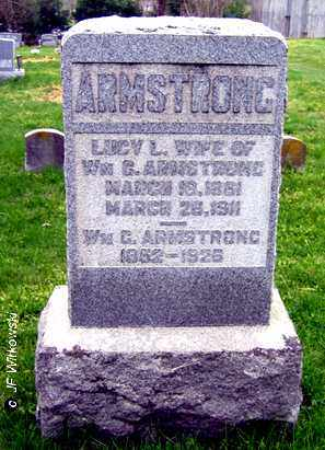 ARMSTRONG, LUCY L. - Washington County, Ohio | LUCY L. ARMSTRONG - Ohio Gravestone Photos