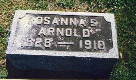 STOLLAR ARNOLD, ROSANNA - Washington County, Ohio   ROSANNA STOLLAR ARNOLD - Ohio Gravestone Photos