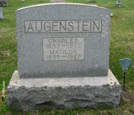 AUGENSTEIN, MATILDA - Washington County, Ohio | MATILDA AUGENSTEIN - Ohio Gravestone Photos