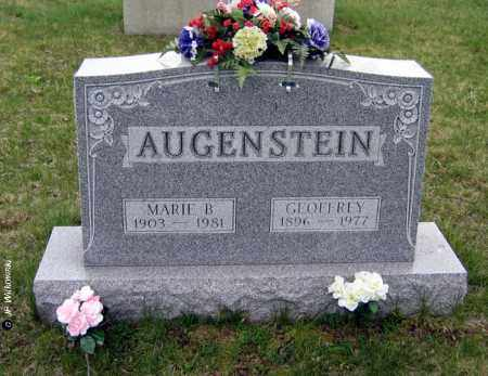AUGENSTEIN, MARIE - Washington County, Ohio | MARIE AUGENSTEIN - Ohio Gravestone Photos
