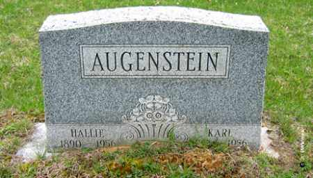 AUGENSTEIN, HALLIE - Washington County, Ohio | HALLIE AUGENSTEIN - Ohio Gravestone Photos