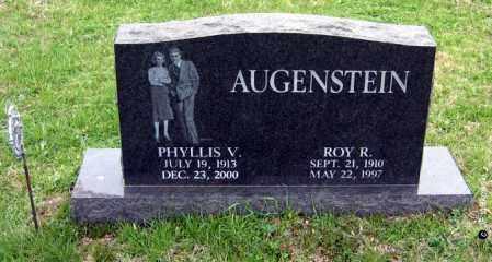 AUGENSTEIN, PHYLLIS V. - Washington County, Ohio | PHYLLIS V. AUGENSTEIN - Ohio Gravestone Photos