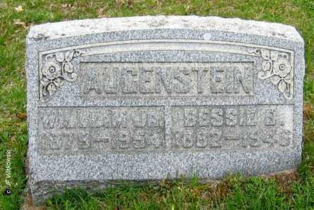 AUGENSTEIN, BESSIE B. - Washington County, Ohio | BESSIE B. AUGENSTEIN - Ohio Gravestone Photos