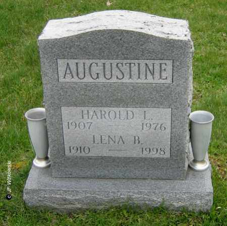 AUGUSTINE, HAROLD L. - Washington County, Ohio | HAROLD L. AUGUSTINE - Ohio Gravestone Photos