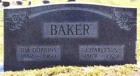 DOBBINS BAKER, IDA MAY - Washington County, Ohio | IDA MAY DOBBINS BAKER - Ohio Gravestone Photos