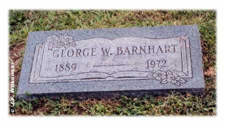 BARNHART, GEORGE WILLIAM - Washington County, Ohio | GEORGE WILLIAM BARNHART - Ohio Gravestone Photos