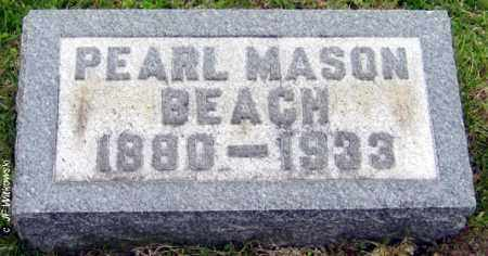 BEACH, PEARL MONTEITH - Washington County, Ohio | PEARL MONTEITH BEACH - Ohio Gravestone Photos