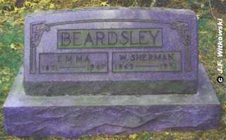 BEARDSLEY, EMMA - Washington County, Ohio | EMMA BEARDSLEY - Ohio Gravestone Photos