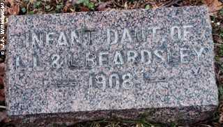 BEARDSLEY, INFANT DAUGHTER - Washington County, Ohio   INFANT DAUGHTER BEARDSLEY - Ohio Gravestone Photos