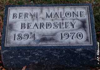 "BEARDSLEY, OLIVE BERYL ""BERYL"" - Washington County, Ohio 