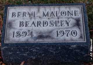 "BEARDSLEY, OLIVE BERYL ""BERYL"" - Washington County, Ohio | OLIVE BERYL ""BERYL"" BEARDSLEY - Ohio Gravestone Photos"