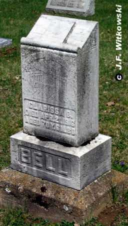 DOBBINS BELL, CLARISSA B. - Washington County, Ohio | CLARISSA B. DOBBINS BELL - Ohio Gravestone Photos