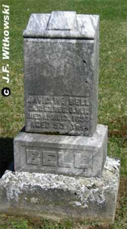 BELL, DAVID WILLIAM - Washington County, Ohio | DAVID WILLIAM BELL - Ohio Gravestone Photos
