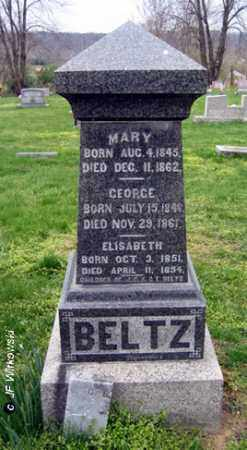 BELTZ, ELISABETH - Washington County, Ohio | ELISABETH BELTZ - Ohio Gravestone Photos