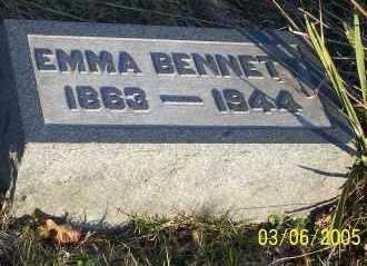 BENNETT, EMMA - Washington County, Ohio | EMMA BENNETT - Ohio Gravestone Photos