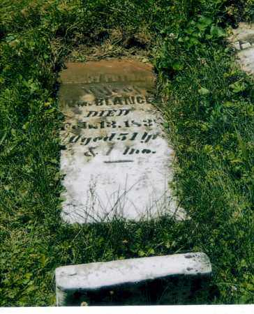 BLANCET, NANCY ANN - Washington County, Ohio   NANCY ANN BLANCET - Ohio Gravestone Photos