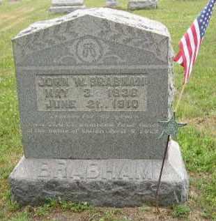 BRABHAM, JOHN - Washington County, Ohio   JOHN BRABHAM - Ohio Gravestone Photos
