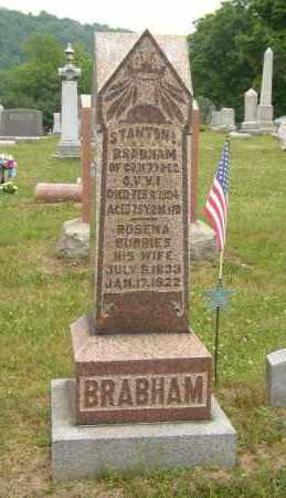 BRABHAM, STANTON - Washington County, Ohio | STANTON BRABHAM - Ohio Gravestone Photos