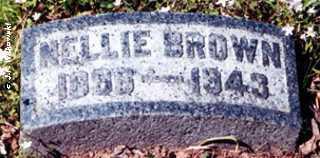 BROWN, NELLIE MARGARET - Washington County, Ohio   NELLIE MARGARET BROWN - Ohio Gravestone Photos