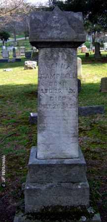 CAMPBELL, HANNA - Washington County, Ohio   HANNA CAMPBELL - Ohio Gravestone Photos