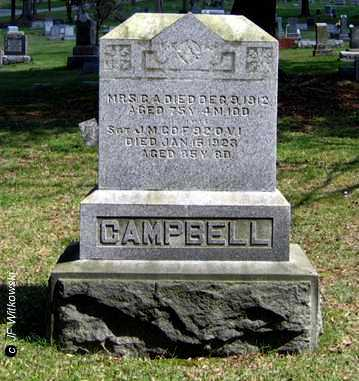 CAMPBELL, CALISTA - Washington County, Ohio | CALISTA CAMPBELL - Ohio Gravestone Photos