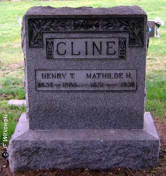 CLINE, HENRY T. - Washington County, Ohio | HENRY T. CLINE - Ohio Gravestone Photos